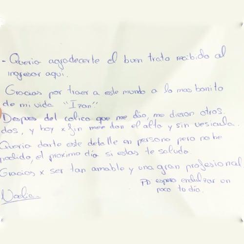 Opiniones Doctora Alba Miranda Calvo